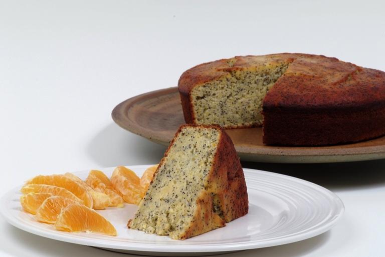 Gâteau au pavot et à l'orange