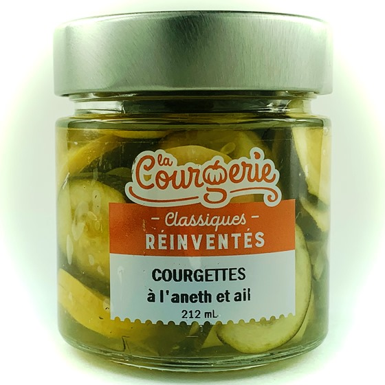 courgettes aneth et ail