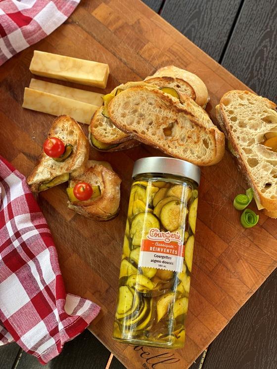 aigres-douces et sandwich