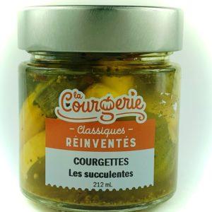 courgettes succulentes