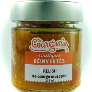 relish courge musquee