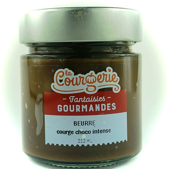 beurre courge choco intense