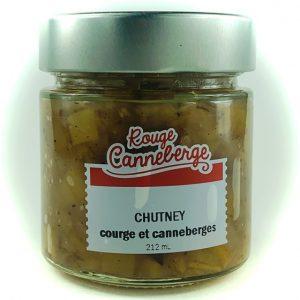 chutney courge et canneberge