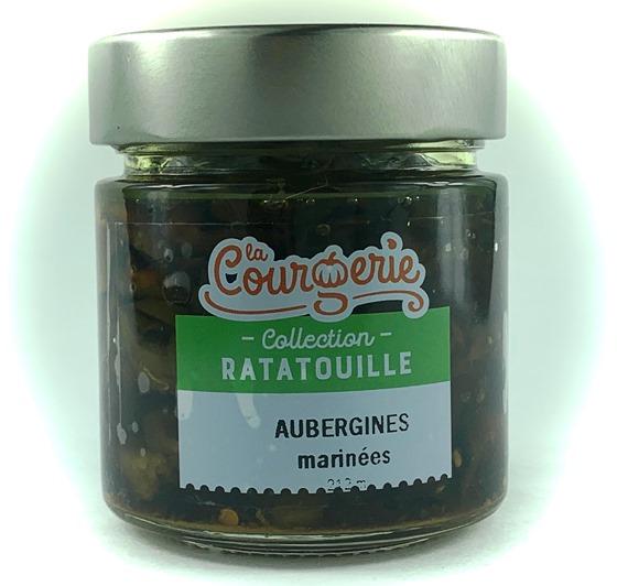 aubergines marinees
