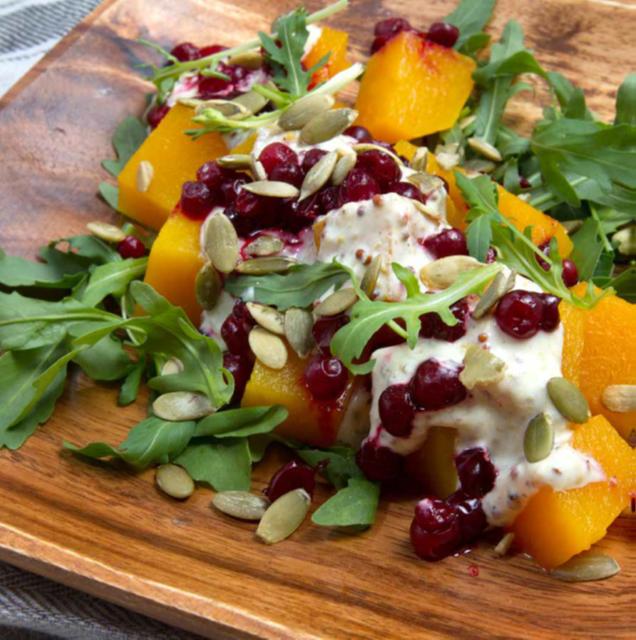 salade tiède de courge