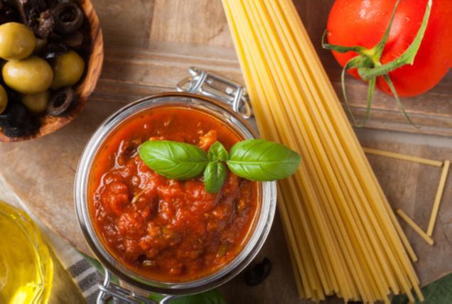 sauce a spaghetti a la courgette